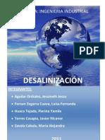 Monografia desalinizacion 2