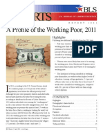 A Profile of the Working Poor 2011 BLS Report