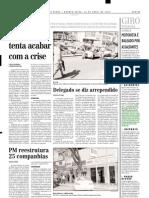 2002.05.22 - Acidentes - Vítima fatal no km 334 da BR-381 - Estado de Minas