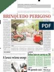 2002.06.03 - Ônibus bate em carreta na 381 - Estado de Minas