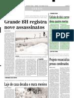 2002.07.29 - Colisão de dois carros deixa quatro mortos - Estado de Minas