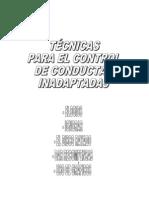 TÉCNICAS PARA EL CONTROL DE CONDUCTAS INADAPTADAS