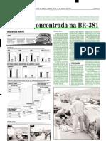2002.08.21 - Tragédia concentrada na BR-381 - Estado de Minas
