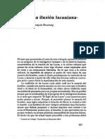 Roustang, F. La Ilusion Lacaniana