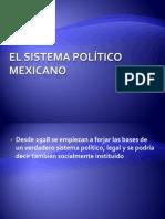 El sistema político Mexicano