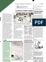 2002.10.01 - ÔNIBUS CAI EM RIBANCEIRA E 12 PASSAGEIROS SAEM FERIDOS - Estado de Minas