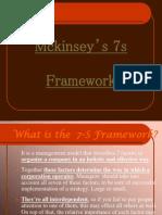 Mckinsey's 7s Model