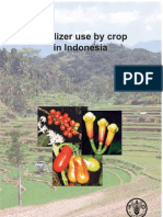 Fertilizer Use by Crop Indonesia
