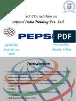 Presentation on Pepsico