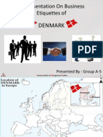 Business Ettiquetes in Denmark