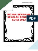 KoAkademik Bahasa Melayu Men 2013 Bicara Berirama