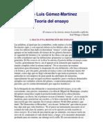 José Luis Gómez-Martínez. teoria del ensayo.docx