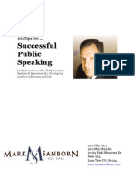 101 Tips for Successful Public Speaking Ns