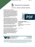Ultrasonic Installation.pdf