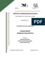 Tanque Imhoff y Fosa Septica