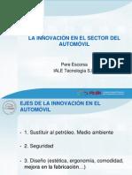 Apresentação - La Innovación en el Sector del Automóvil (1)