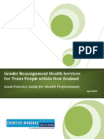 Gender Reassignment Health Services for Trans People Nz 2012 v2
