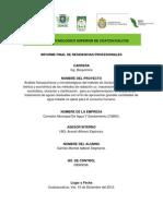 Análisis fisicoquímicos y microbiológicos..