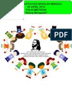 """Bahan Kreativitas Sekolah Minggu 28 April 2013 PIA Kumetiran """"Saling Mengasihi"""""""