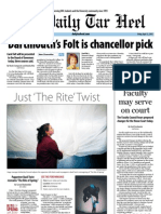 The Daily Tar Heel for April 12, 2013