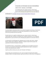 11-04-13 Presumen Que Armas Incautadas en Venezuela Eran Para Desestabilizar