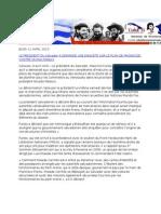 09-04-13 Le président du Salvador a demandé une enquête sur le plan de magnicide contre Nicolás Maduro