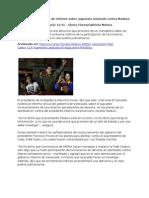 09-04-13 El Salvador en Espera de Informe Sobre Supuesto Atentado Contra Maduro