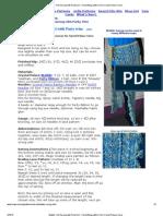 Waikiki Convertable Wrap Knit Sarong with Party trim