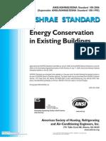 125458920 Energy Conservation AHRAE 100