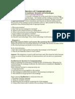 Communication Studies for C
