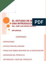 EL ESTUDIO DE MERCADO UNA INTRODUCCIÓN