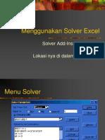 kuliah5-Menggunakan Solver Excel.ppt