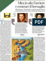 L'utopia per dare luogo a ciò che non ce l'ha ancora, di Carlo Ossola - La Stampa 12.04.2013
