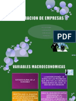 Valoracion de Empresas.variables Macro