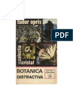Botanica distractivă (T.Opriș 1973)