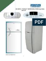 Datos técnicos refrigerador