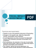 Fiscal Impact and Investment