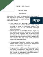 84669403 Public Finance Lecture Notes