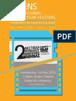 "Programme Edge Hill The Award Winning Films of ""Athens International Digital Film Festival"""