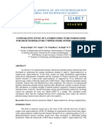 Comparative Study of Layered Structure Formulisms for High Temperature Copper