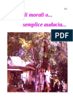 Scrupoli morali o... semplice audacia