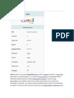 Breve reseña historica de Gmail!
