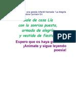 Poesía de Lía