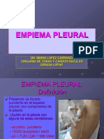 Empiema Pleural Exp.