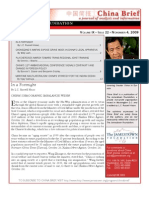 The Jamestown Foundation - China Brief - Volume 9 Issue 22