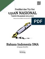 Soal Prediksi UN Bahasa Indonesia SMA 2013