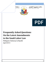 PR-054-2013A FAQ Labor Law Amendments - April 2013