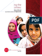 Setting the right priorities Protecting Children Affected by Armed Conflict in Afghanistan - Watchlist 2010