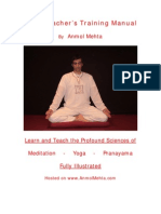 Yoga Teachers Training Manual