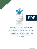 Manual Usuario SISREC